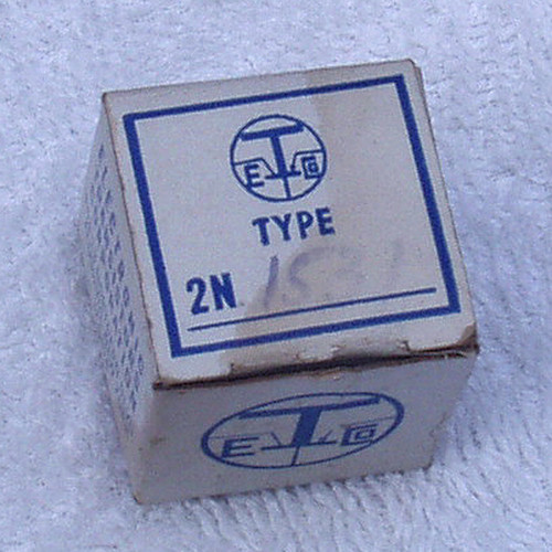 Germanium Power Transistor 2N1531 Brand New VERY OLD Stock in box