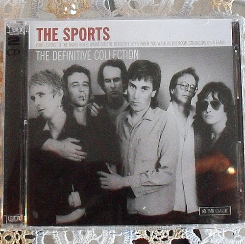 Pop Rock - THE SPORTS The Definitive Collection 2x CD 2004 (NOS)