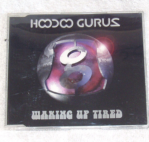 Alternative Rock - Hoodoo Gurus Waking Up Tired CD Single 1996