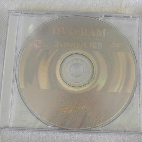 DVD-RAM Media Samsung 3x Single Sided 4.7Gb 120 Minutes