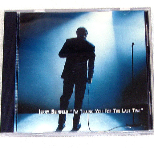 Spoken Comedy - JERRY SEINFELD I'm Telling You For The Last Time CD 1998