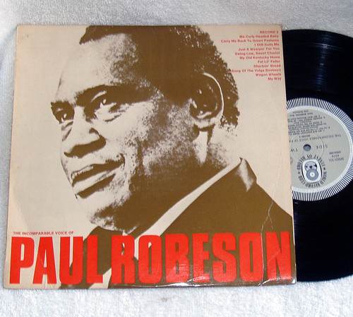 "Vocal Blues - Paul Robeson The Incomparable Voice Of 10"" Vinyl '68"