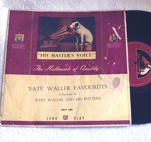 "Jazz Swing - Fats Waller Favourites 10"" Vinyl 1953"