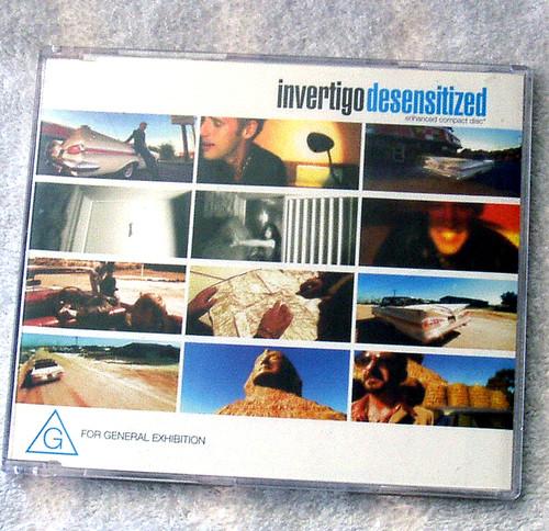 Pop Rock - INVERTIGO Desensitized CD Single 2000