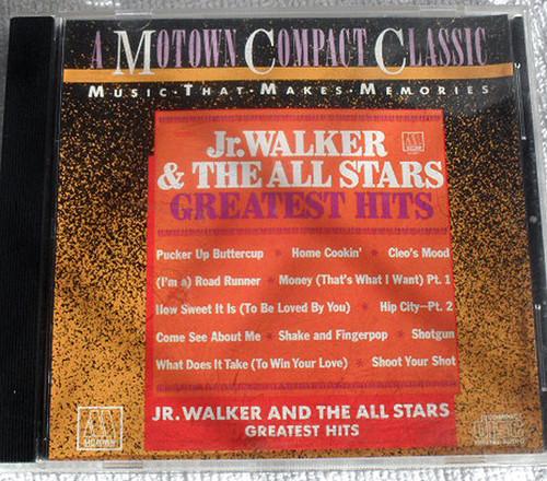 Funk Soul - JUNIOR WALKER & THE ALL STARS - Greatest Hits CD 1987 Reissue