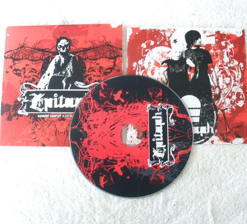 Metal Rock - EPITAPH RECORDS SUMMER SAMPLER Promotional CD (Card Sleeve) 2005