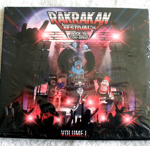 Alternative Rock Punk  - RAKRAKAN FESTIVAL (Compilation) CD (Card Sleeve) 2014
