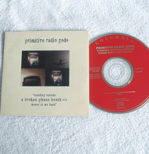 Alternative Rock - PRIMITIVE RADIO GODS Standing Outside A Broken Phone Booth ... CD Single (Card Sleeve) 1996