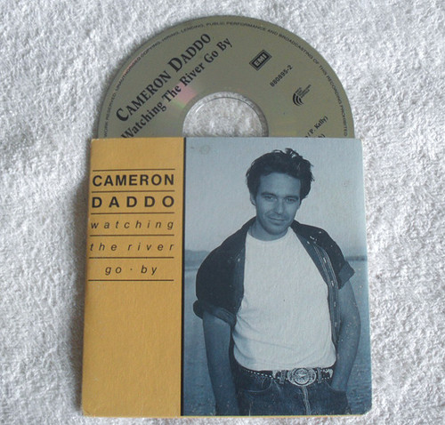 Country Folk - CAMERON DADDO Watching The River Go By CD Single (Card Sleeve) 1993