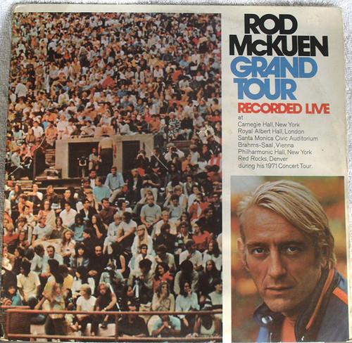 Spoken Word Easy Listening - Rod McKuen  Grand Tour Vinyl 1971