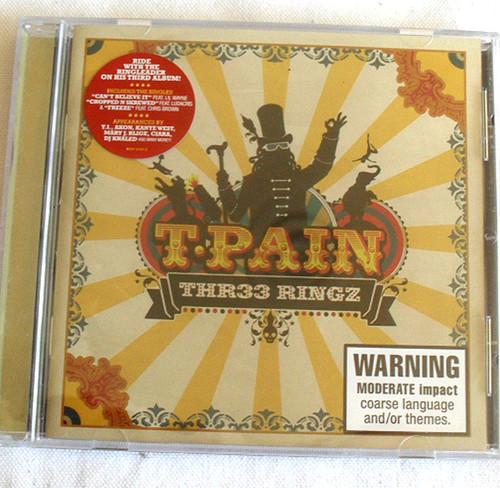 RnB Swing - T.PAIN Thr33 Ringz CD 2008