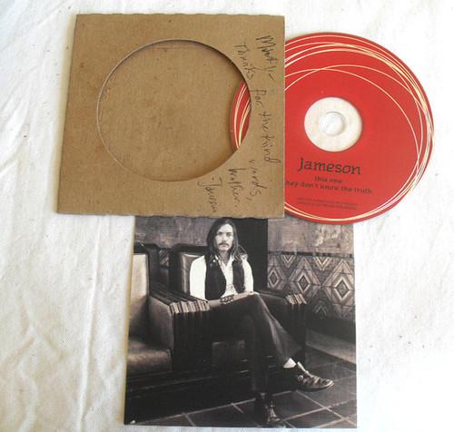 Alternative Rock - JAMESON This One Promotional CD Single (Card Sleeve) 2011