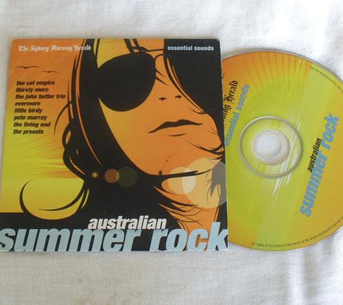 Rock - AUSTRALIAN SUMMER ROCK Compilation Promotional CD (Card Sleeve) 2008