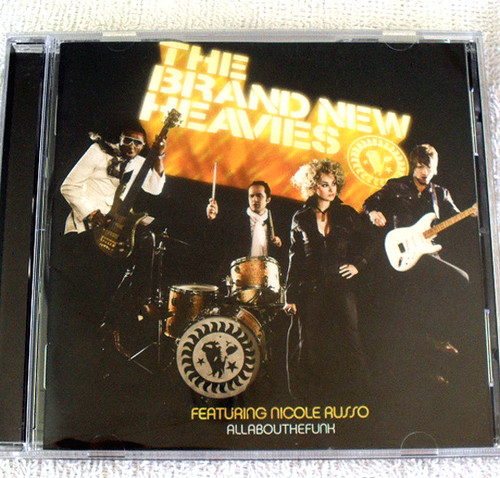 Funk Jazz - THE BRAND NEW HEAVIES (Ft Nicole Russo) - All About The Funk CD 2004