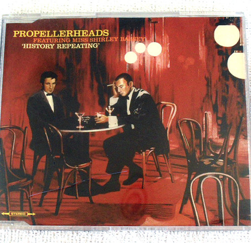 Breakbeat Jazzdance - PROPELLERHEADS History Repeating CD Single 1997