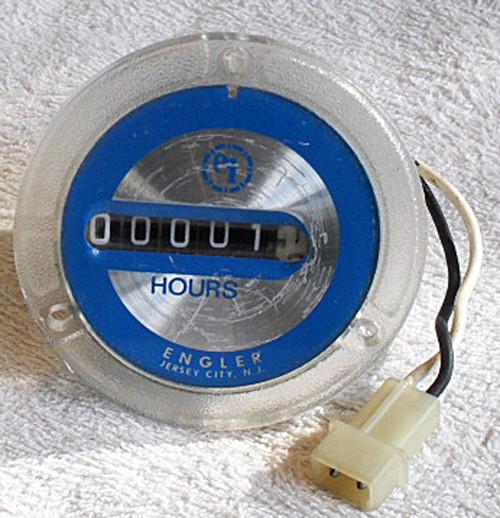Engler Instruments 50Hz 240V Elapsed Hour Meter (Almost New)