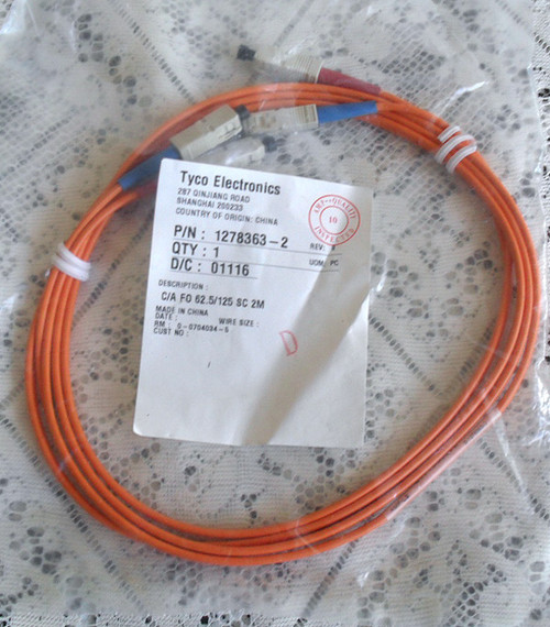 Fibre Optic Duplex Multimode Patch Cable SC 2 metres