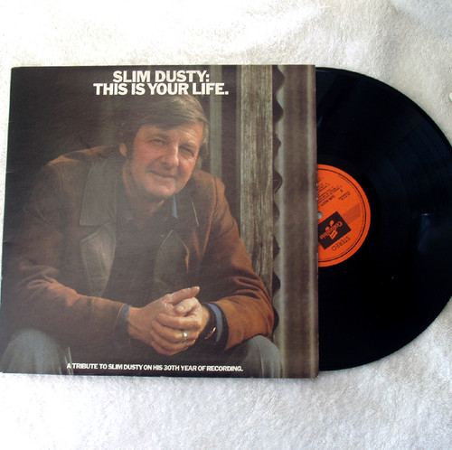Country Folk - Slim Dusty This Is Your Life Vinyl 1976