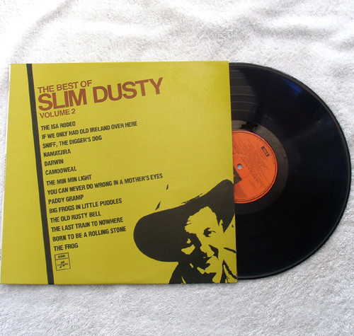 Country Folk - Slim Dusty The Best Of (Volume 2) Vinyl 1975-76