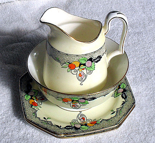 Paragon Vellum China Tea Set Circa 1919 - 33 INCOMPLETE