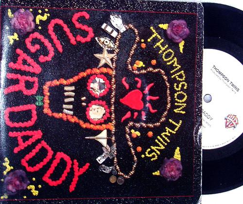 """Synth Pop - THOMPSON TWINS Sugar Daddy 7"""" Vinyl 1989"""