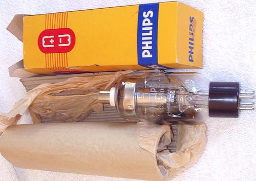 PHILIPS High Voltage/Current Rectifier DCX4/1000 Valve Tube