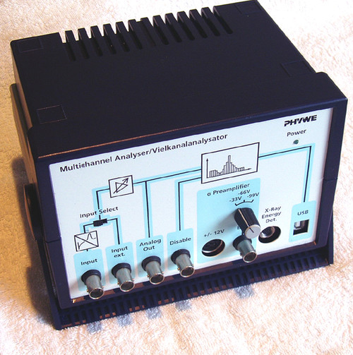 PHYWE Multichannel Analyser Experimental Laboratory Equipment