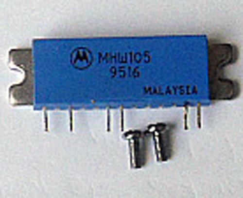 Salvaged VHF RF power module - MHW105 - 5W Lo Band VHF