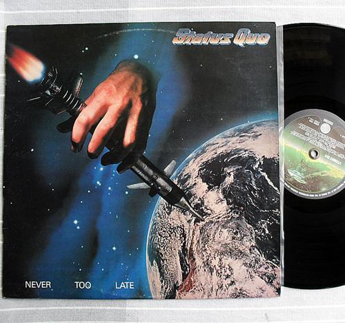 Rock - Status Quo Never Too Late Vinyl 1981