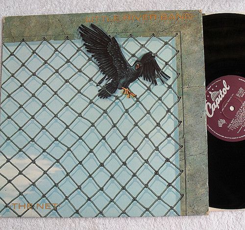 Australian Pop - Little River Band The Net Vinyl 1983