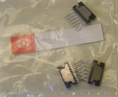 Integrated Circuit PHILIPS TDA4800 (CRT Vertical Deflection) NOS