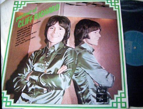 Pop - CLIFF RICHARD Portrait Of...  Vinyl 1972