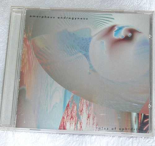 Ambient Techno - AMORPHOUS ANDROGYNOUS Tales Of Ephidrina CD 1993