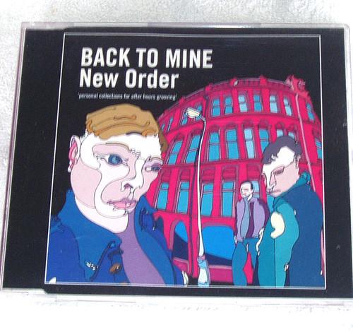 Avantgarde Disco Techno Rock - NEW ORDER Back To Mine Compilation CD 2002
