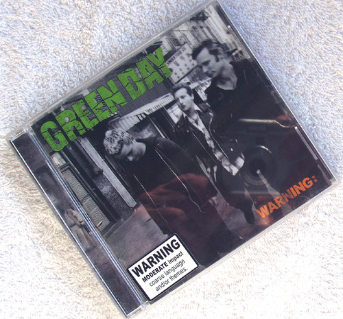 Punk Rock - GREEN DAY Warning CD 2000