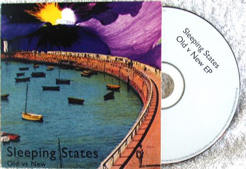 Indie Rock - SLEEPING STATES Old vs New EP CD 2008