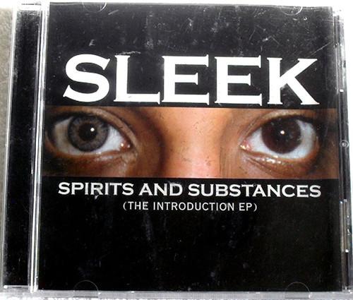 Rap - Sleek Spirits And Substances CD (Promo) 2008