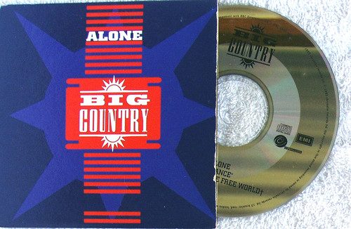 Pop Rock - BIG COUNTRY Alone CD Single (Cardboard Sleeve) 1993
