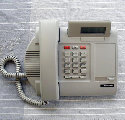 Business Telephone Keystation - Telstra Commander M7100