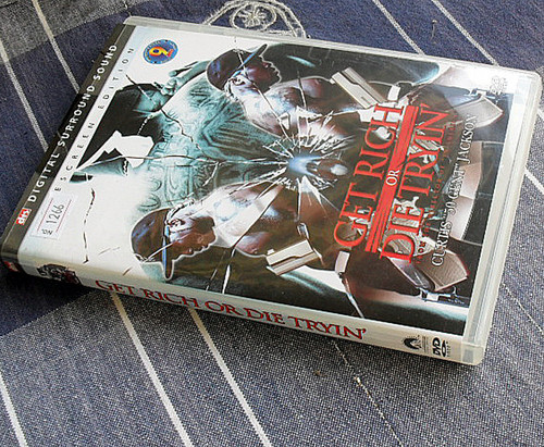 50 Cent USA Rap - Get Rich or Die Tryin' DVD Region 1 NTSC