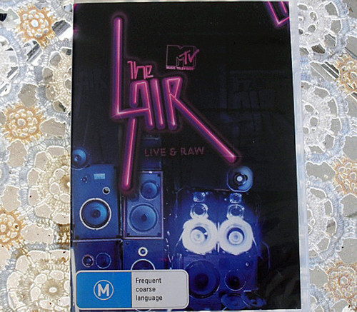 Australian indie band compilation DVD - The Lair - MTV