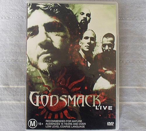 Hard Rock - Godsmack Live DVD (USA)