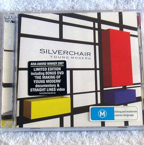 Alt. Rock - Silverchair Young Modern Ltd Edition CD/DVD '07