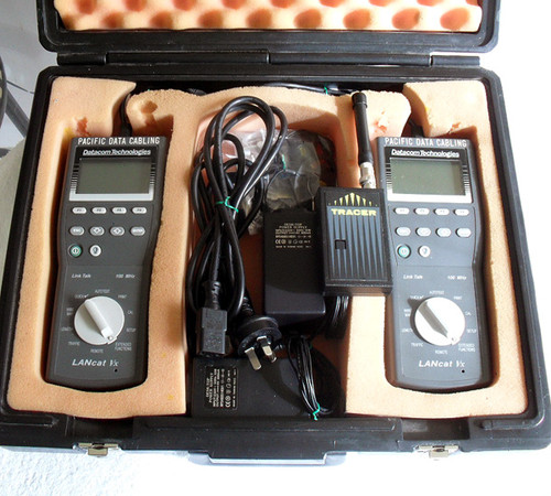 1997 Datacom LANcat Vx Cable Analyser Complete Kit