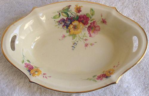 A.J WILKINSON Floral Spray Bon Bon  Dish  1947 - 1950's
