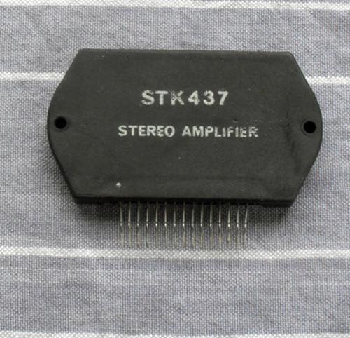 SANYO STK437 (10W + 10W Audio Amplifier) Used Working