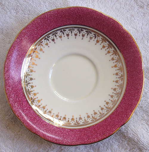 1934 - 1939 AYNSLEY (England) Chinaware  Saucer ONLY