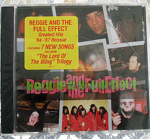 Hardcore Emo Punk Reggie & The Full Effect Greatest Hits 84 -87 CD 2004