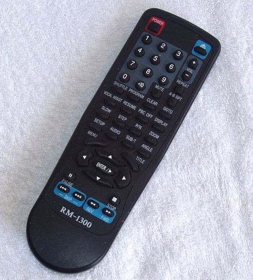 Remote Control - Apex DVD RM-1300  (Used/Tested/Working)