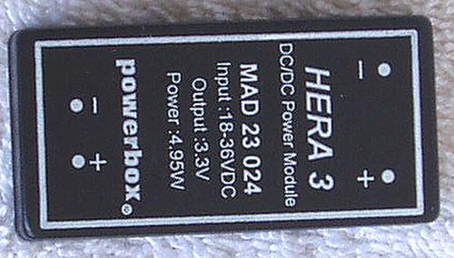 POWERBOX (Sweden) MAD 23 Series DC-DC Converter Module